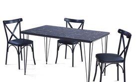 GLOSS MAX тр.маса + 4 стола