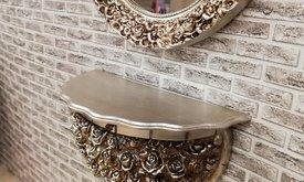 Конзола с огледало букет от...