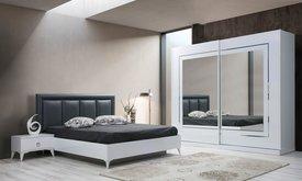 LOTUS white спален комплект