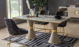 EMIRGAN маса + 6 стола