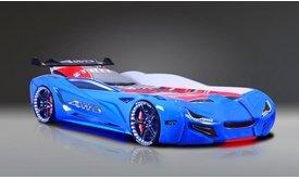SUPER CAR GT1 легло кола синьо