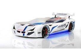 SUPER CAR GT-1 легло кола бяла